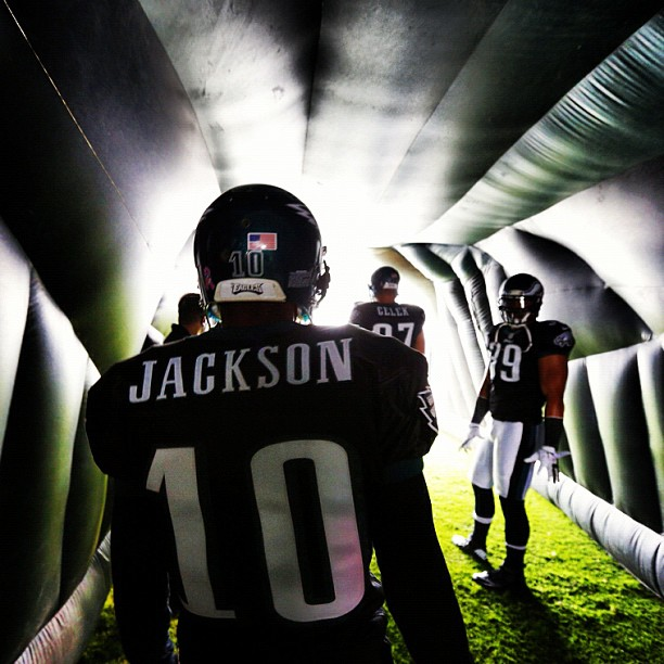 DJax in the tunnel.