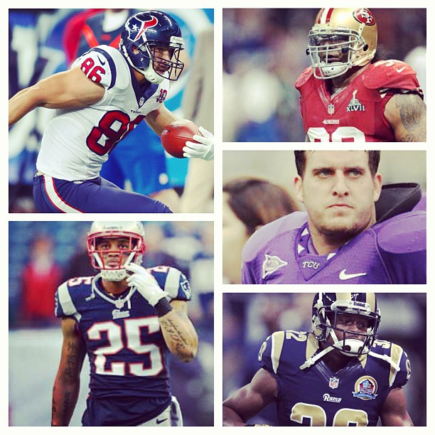 Who Is the Best in the NFL Free Agent Year Having