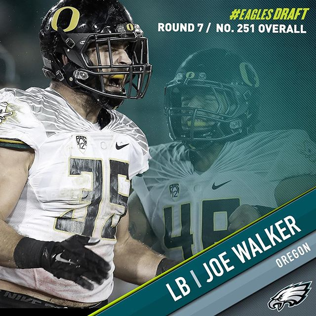 With the 251st pick in the 2016 #NFLDraft, the select LB Joe Walker.